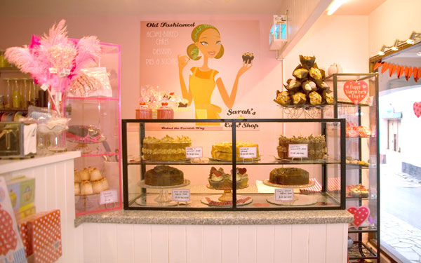 sarah s cake shop in looe cornwall make delicious