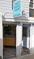 Sarahs Pasty Shop front